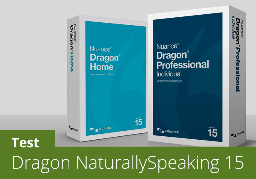Dragon NaturallySpeaking - Test