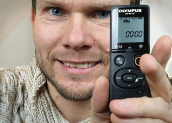 Diktiergerät Olympus VN541-PC - Handling