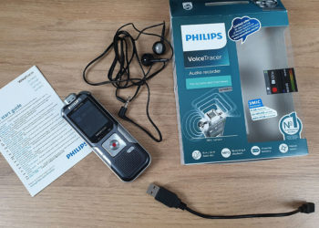 Philips Voice Tracer 6010 - Lieferumfang