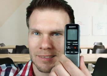 Sony ICD-PX240 Diktiergerät - Vorstellung