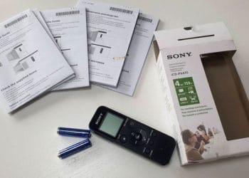 Sony ICD PX470 Diktiergerät - Lieferumfang